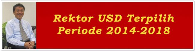 Rektor USD Terpilih Periode 2014-2018